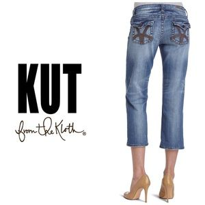 Kut from the Kloth Roll Up Crop Jeans👖